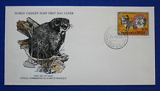Mongolia (1089) 1979 Wildcats - Manuls WWF FDC