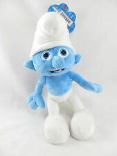 "The Smurfs CLUMSY SMURF Brand New w Tag NWT Plush Stuffed Toy 10"" Jakks Pacific"