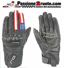 Guanti pelle leather gloves OJ FIGHTER USA Harley Buell