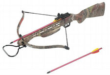 150 lb Draw CAMO Hunt Large Game Hunting Crossbow Rifle Grip PRO Archery Bows