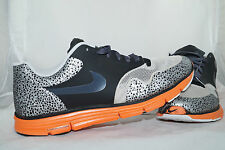 Nike LUNAR SAFARI FUSE + Running Laufschuhe Gr:45 Orange Rot