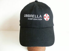 Resident Evil, Umbrella Corporation, embroidered onto Black, SOL's cap, New