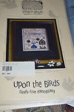 Sheepish Designs Cross Stitch Pattern Upon the Birds 95 Exemplary