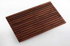 Teak Shower mat 19.6 x 31.4 Premium oiled wood, Pool, Spa, Bath