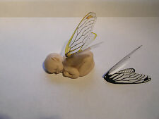 Silicone Elf fairy Baby Mold Kit with 4 sets of wings for fimo sculpey  Clay