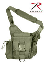 Rothco 2428 Olive Lightweight MOLLE Polyester Advanced Tactical Shoulder Bag