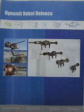6/2010 PUB DYNAMIT NOBEL DEFENCE BURFACH ANTI TANK SYSTEM ARMOUR ORIGINAL AD