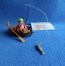 Playmobil Pirata con barco pescando pirate in boat fishing Pirat Boot 3937