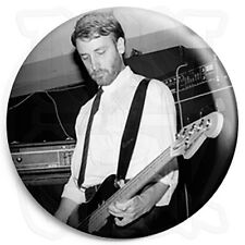 "Joy Division - Peter Hook ""Hooky"" Bass - Post Punk Indie 25mm Button Badge"