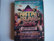 UPRISING-FANTASY ISLAND MAY 2014 WEEKENDER- ONE VISION V BIONIC ARENA  6 CD PACK