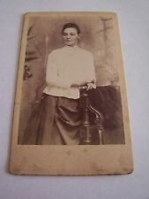CDV Victorian Woman A Jennings & Co Blackburn Fashion