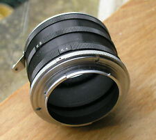 Nikon  F K manual extension tube set non-ai