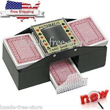 Texas Holdem Card Shuffler Automatic 2 Deck Cards Shuffle Poker Casino Playing