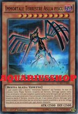 Yu-Gi-Oh Immortale Terrestre Aslla Piscu LC5D-IT146 SuperRaro ITA Immortal Nuovo