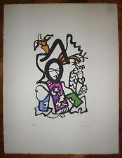 Lapicque Charles gravure signée numérotée art abstrait abstraction