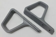 Camaro/Firebird Seat Belt Shoulder Guides Gray Pair New Reproduction