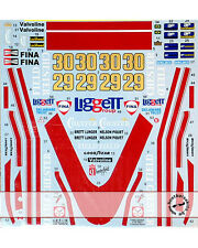 1978 CHESTERFIELD DECAL for TAMIYA 1/20 McLAREN M23