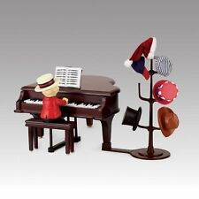 Mr. Christmas TEDDY Takes Request With Baby Grand Piano MUSIC BOX Animated NEW