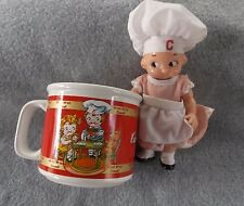 Campbell's Soup1998 M'm! M'm! Good! Mug & 1997 Campbell Kid Doll in Chef Attire