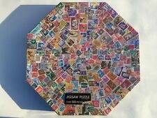 NEW & SEALED SPRINGBOK OCTAGONAL POSTAGE PAID JIGSAW PUZZLE VINTAGE STAMPS