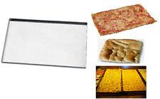 TEGLIE TEGLIA PLACCA LAMIERA PROFESSIONALE DA FORNO PER PIZZA E FOCACCIA 60x40x2