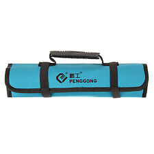 New Pockets Hardware Roll Tool Bag Plier Screwdriver Spanner Carry Case Pouch