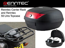 RENNTEC CARRIER / RACK & 50 BOX TOPBOX BLACK HONDA CB900 F2-F7 HORNET (02-07)