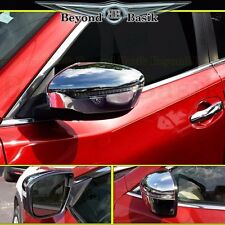 Fits 2014-2016 NISSAN ROGUE Chrome Mirror Covers With Turn Signal