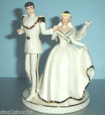 Lenox Disney Wedding CAKE TOPPER Cinderella & Prince Charming Magical Moment New