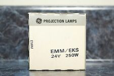 GE EMM/EKS 24V 250W Quartzline Projection Lamps