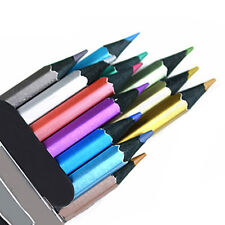 Marco Pro 12 Colors Metallic Non-toxic Drawing Pencils Drawing Sketching Popular