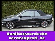 Ford Escort Cabrio Roof PVC black Convertible soft top ALL Year 1990 to 1998