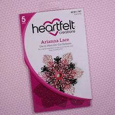 Heartfelt Creations Cut&Emboss Dies By Spellbinders ~ Arianna Lace, HCD747 ~NIP