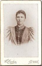 CDV photo Damenportrait - Wien 1890er