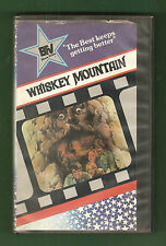 WHISKEY MOUNTAIN 1977 (Best Film & Video) Christopher George Charlie Daniels vhs