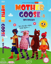 Mother Goose Club Educational DVD & CD set B - Nursery Rhymes - Songs (NEW)