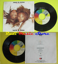 LP 45 7'' MEL & KIM That's the way it is You changed my 1988 italy CGD cd mc*dvd