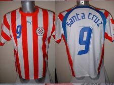 PARAGUAY Santa Cruz shirt Puma adulto S SOCCER FOOTBALL JERSEY MALAGA Blackburn