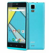 "Cheap 5"" Android GSM Worldwide Unlocked Smart Phones Dual Sim USA X230 Blue"
