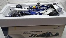 BUILT 1/18 WILLIAMS F1 BMW FW26 R. SCHUMACHER Limited Edition