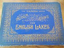 Antique c1900 LAKE DISTRICT CUMBRIA Real Photo Album VIEWS OF THE ENGLISH LAKES