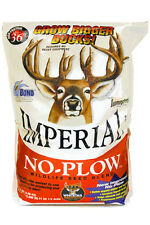 Deer & Turkey 2 lb Whitetail Institute IMPERIAL NO PLOW Seeds Food Plot Forage