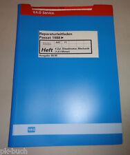 Werkstatthandbuch VW Passat B3 35i 4-Zylinder Dieselmotor / Mechanik 1,9 l Motor