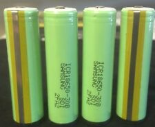 "Brand New ""4""  Samsung ICR18650 3000mAh 30B Rechargeable Battery Protected 18650"