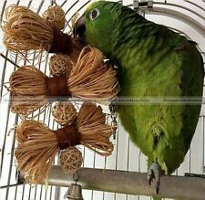 Pet Parrot Toy Bird Bell Ball For Parakeet Cockatiel Chew Fun Cage Toys