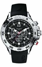 Nautica Black NST Chronograph N14536G Mens Watch