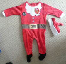 *New* Primark Early Days Baby Grow Santa Suit With Hat-6-9 Months,74cm,upto 10kg