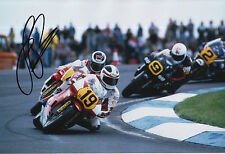 Freddie Spencer Hand Signed 12x8 Photo Honda HRC MotoGP Legend 7.