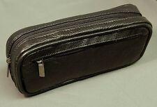 Premium leather case for E-cigarette (ENDS) - Black top grain leather.