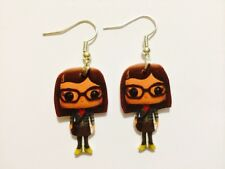 Big Bang Theory Amy Farrah Fowler Earrings Handmade Plastic Charms Mayim Bialik